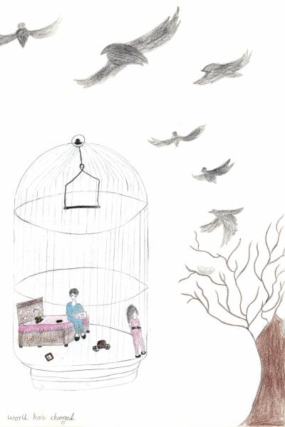 Sketch by Neda Y.